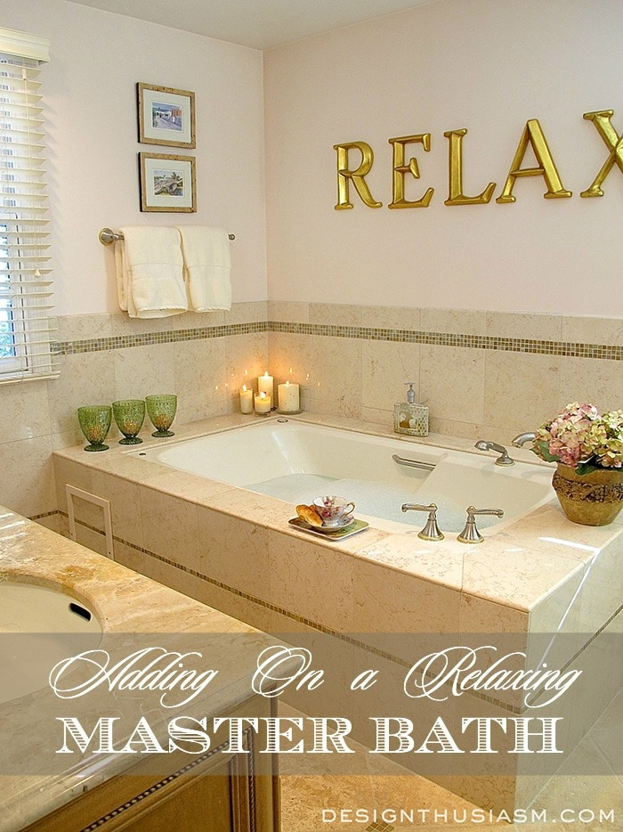 Relaxing Master Bath Add-on