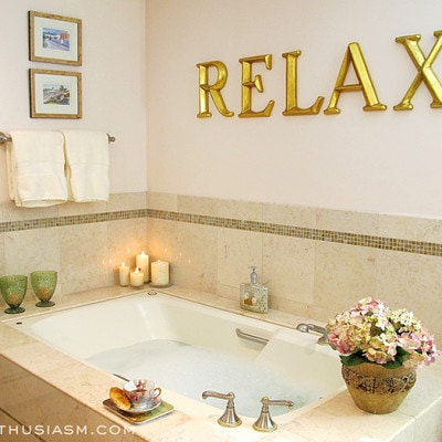 A Relaxing Master Bath Add-on