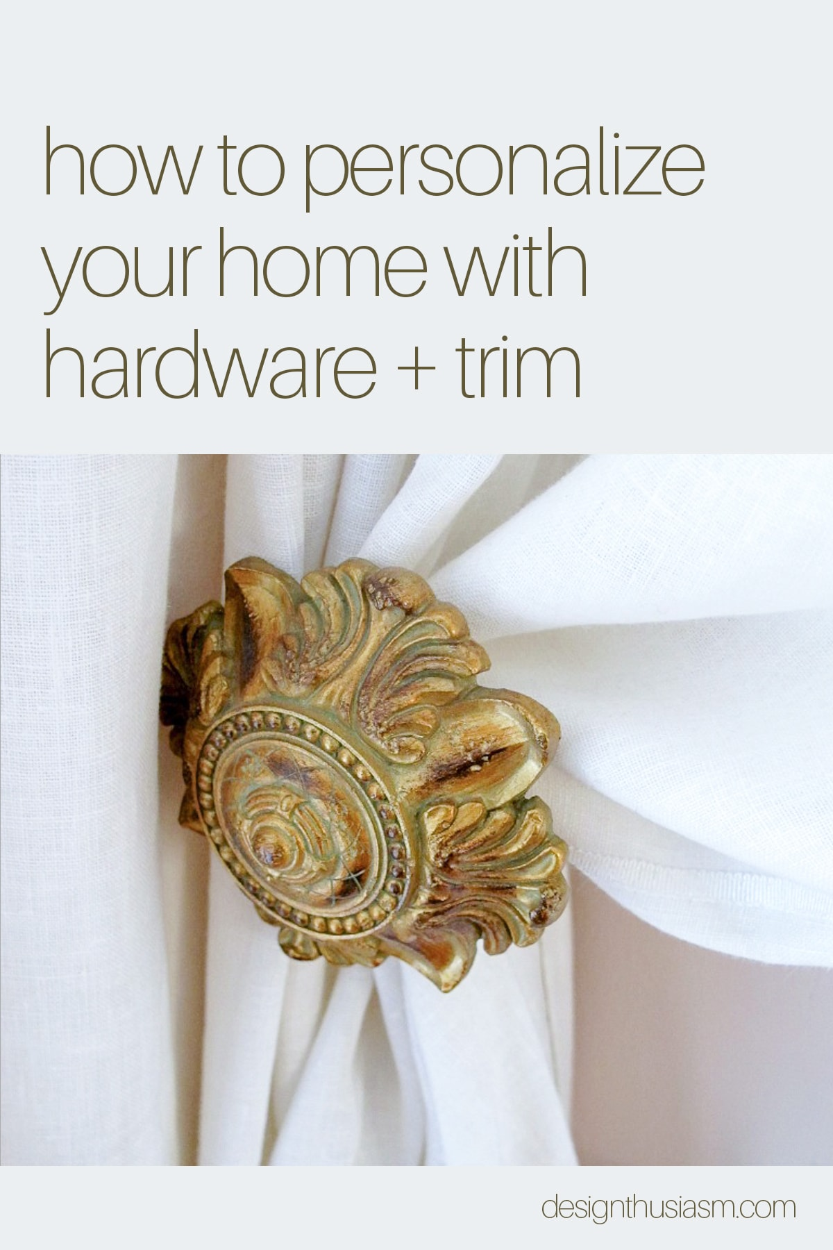 home hardware and trim