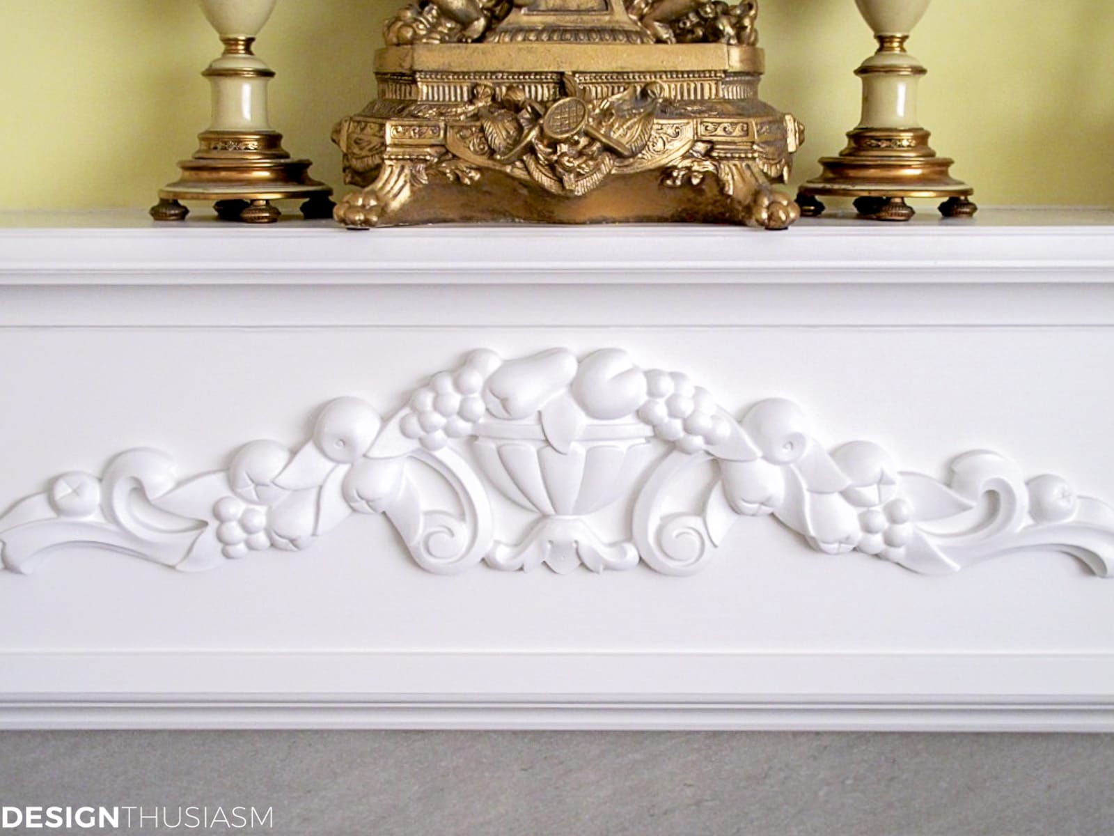 fireplace molding and decorative trim