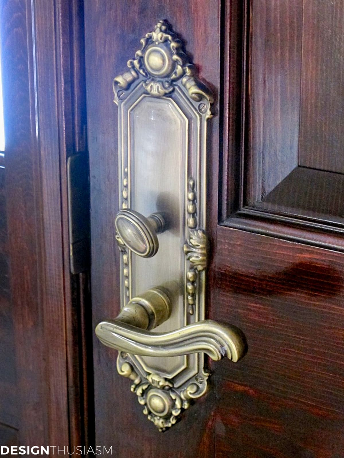 Door hardware Sandd trim