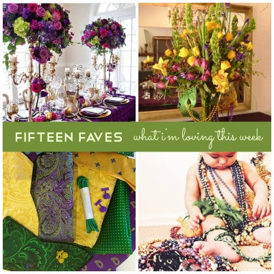 Fifteen Faves – What I'm Loving This Week
