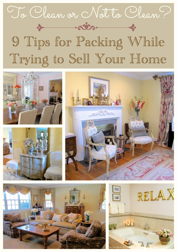 9 Tips for Packing While Trying to Sell Your Home
