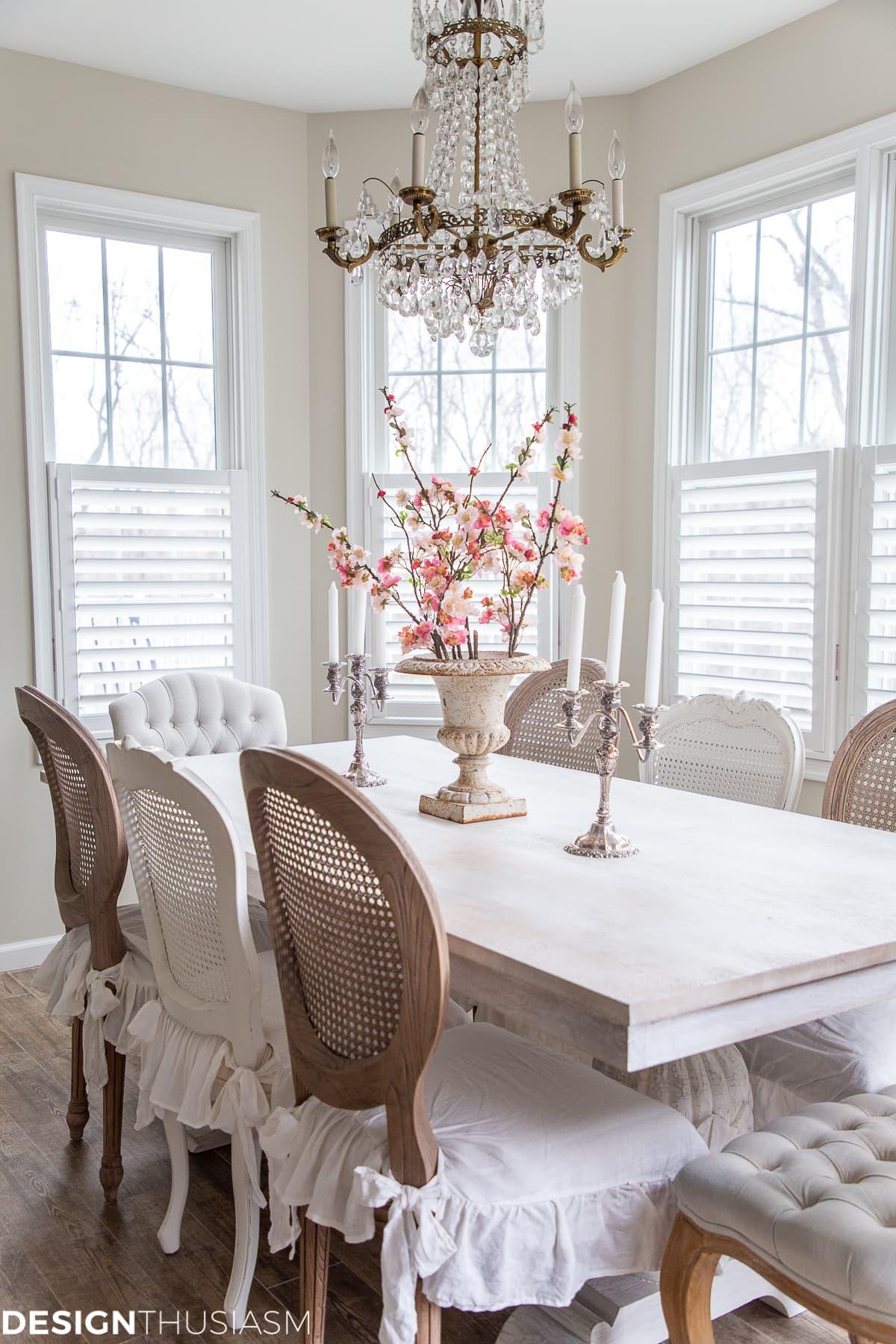 vintage dining room chandelier