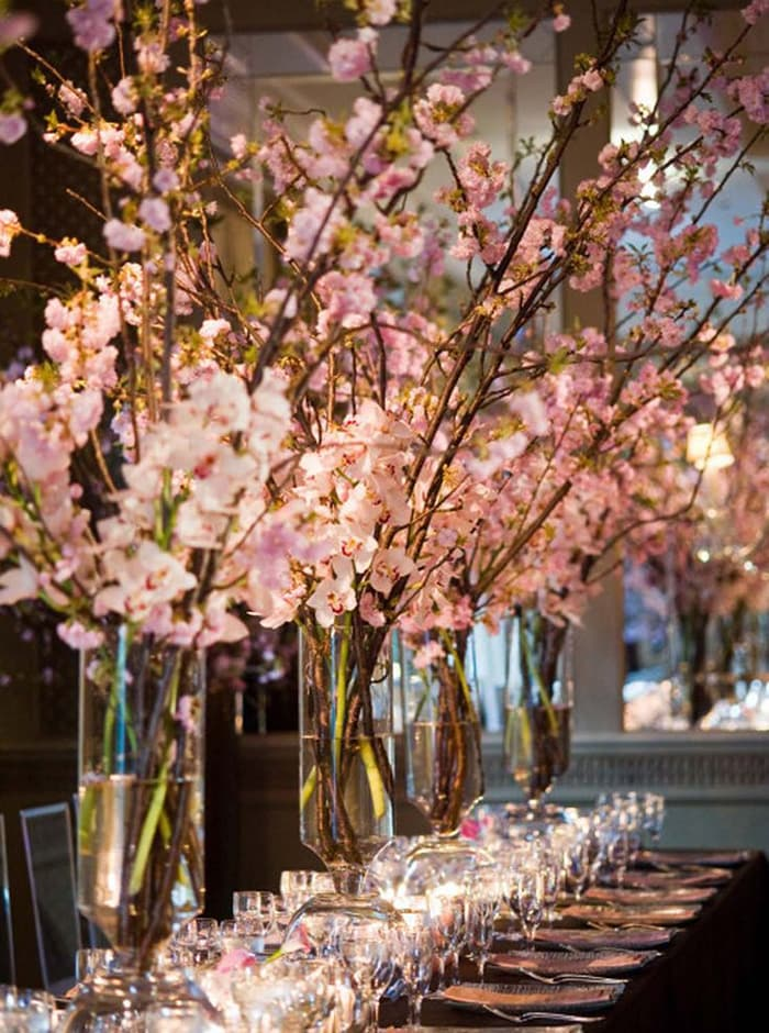 Cherry Blossom Tables