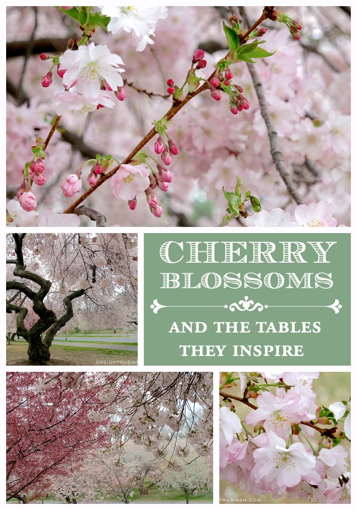 Cherry Blossoms & the Tables They Inspire