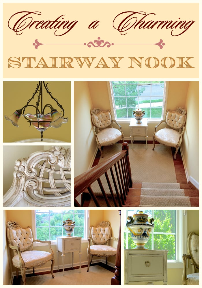 Creating a Charming Stairway Nook