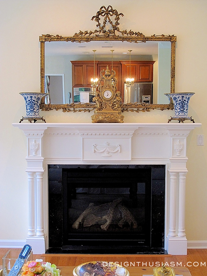 Transform A Room With New Fireplace Mantel