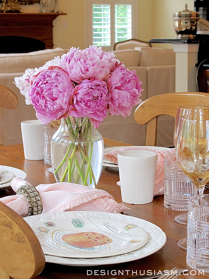 10 Tabletop Tips for a Special Lunch