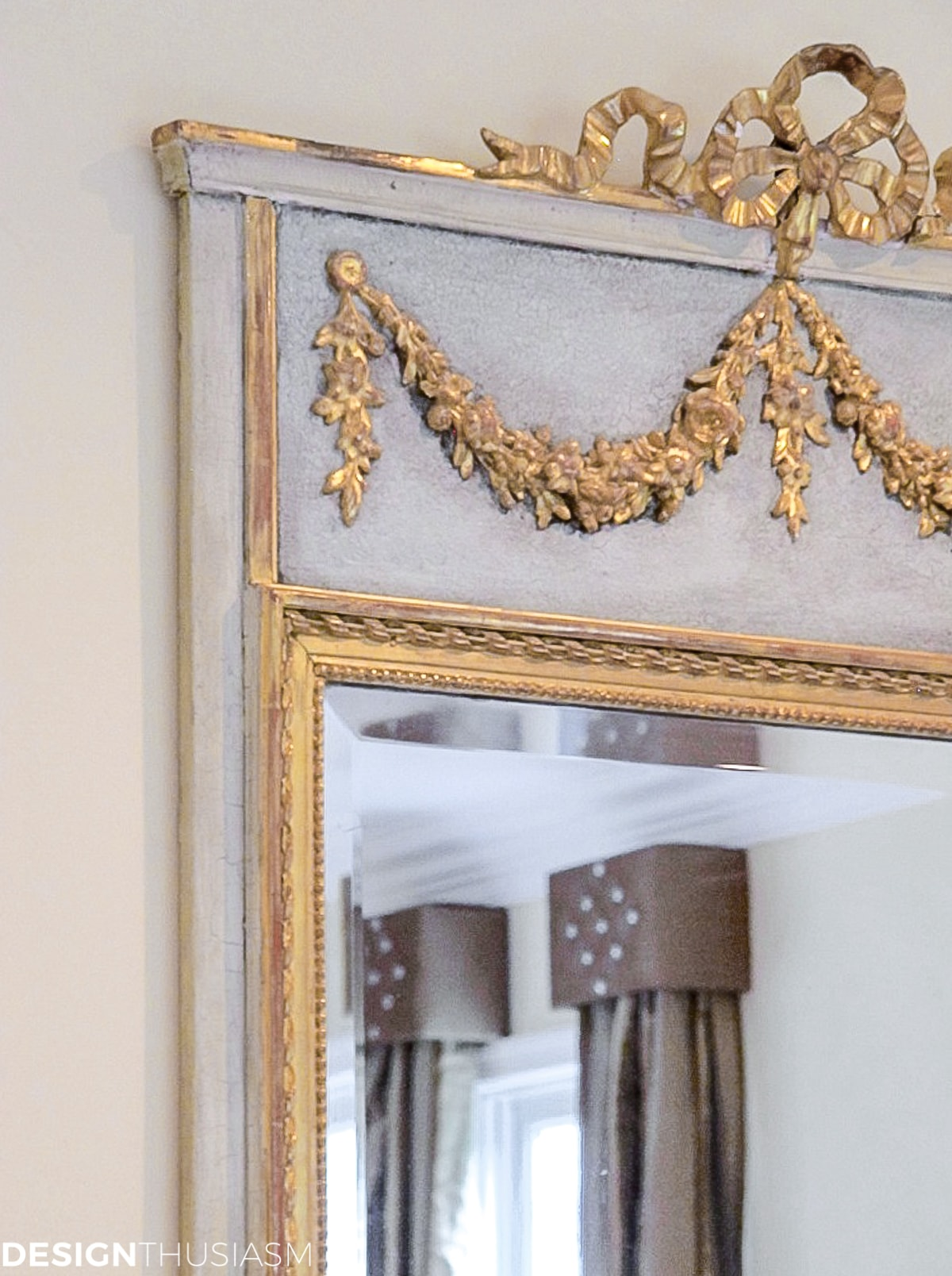 french living room mirror