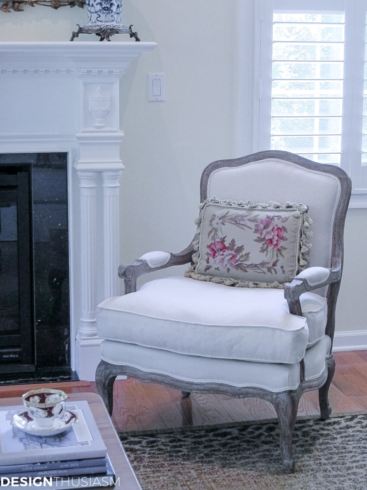 family room french chair