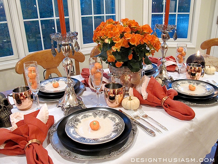 Merveilleux A Halloween Table Setting