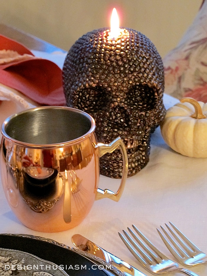 A Halloween Table Setting