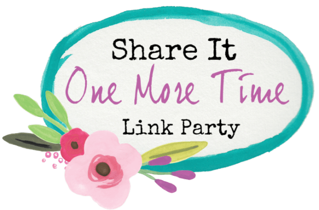 Share It One More Time Link Party