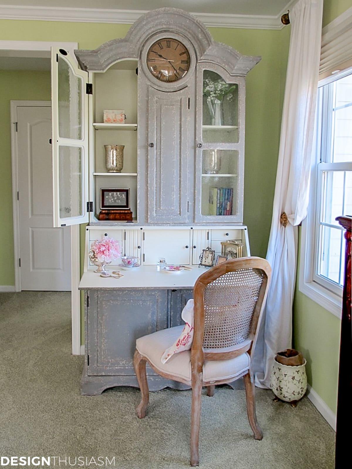 bedroom vanity secretary desk