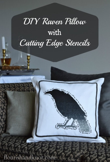diy-raven-pillow