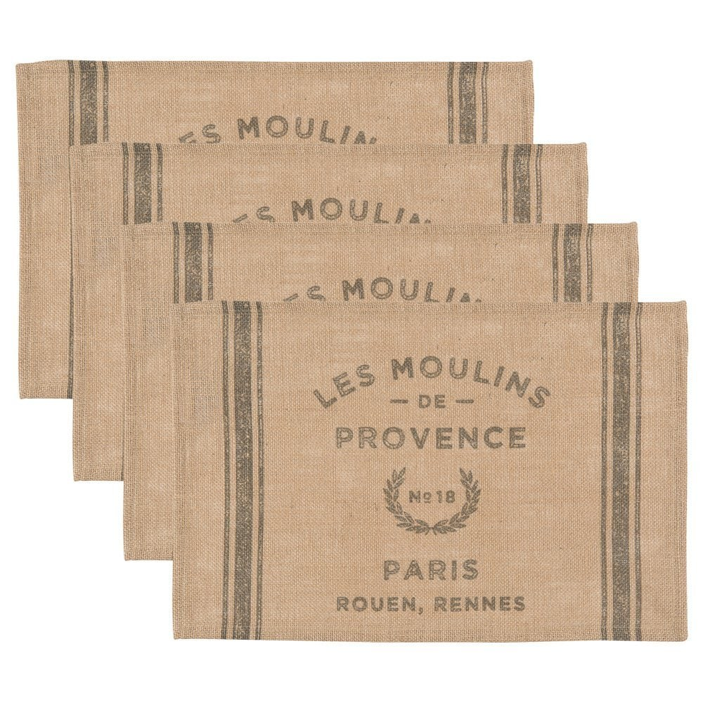 French Grainsack Placemats
