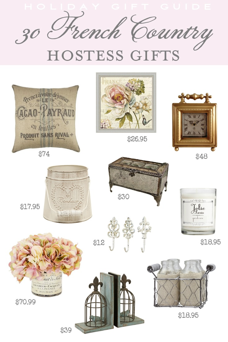 30 French Country Hostess Gifts
