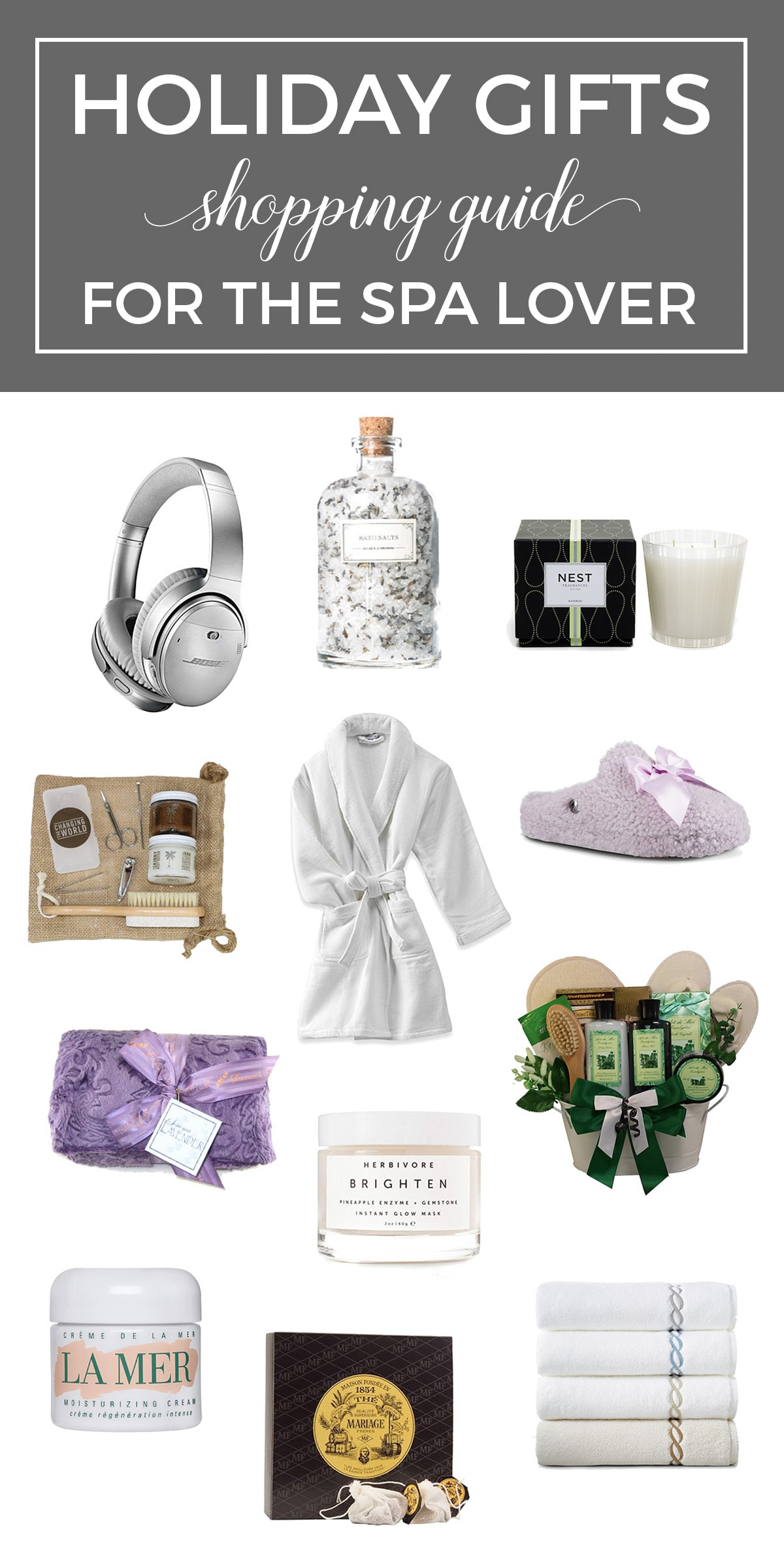 Gift Guide Spa Lover