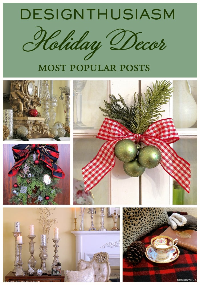 Holiday Decor Collage