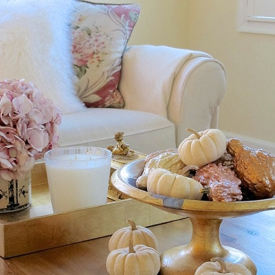 Easy, budget-friendly fall DIY centerpiece