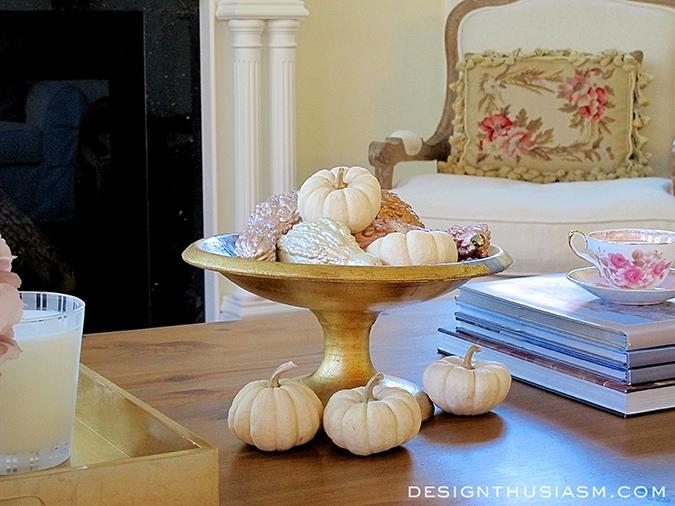 Easy, budget-friendly fall DIY centerpiece