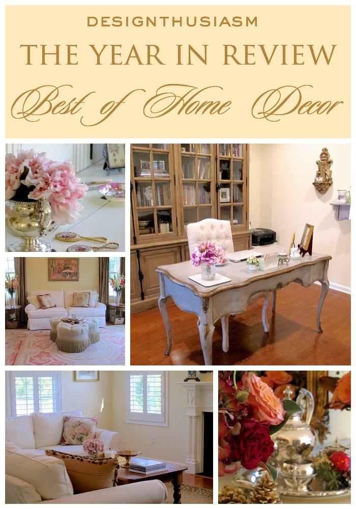 2016 Year In Review Home Decor - Designthusiasm.com