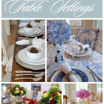 Year in Review, Part 2 – Best of Tablescapes