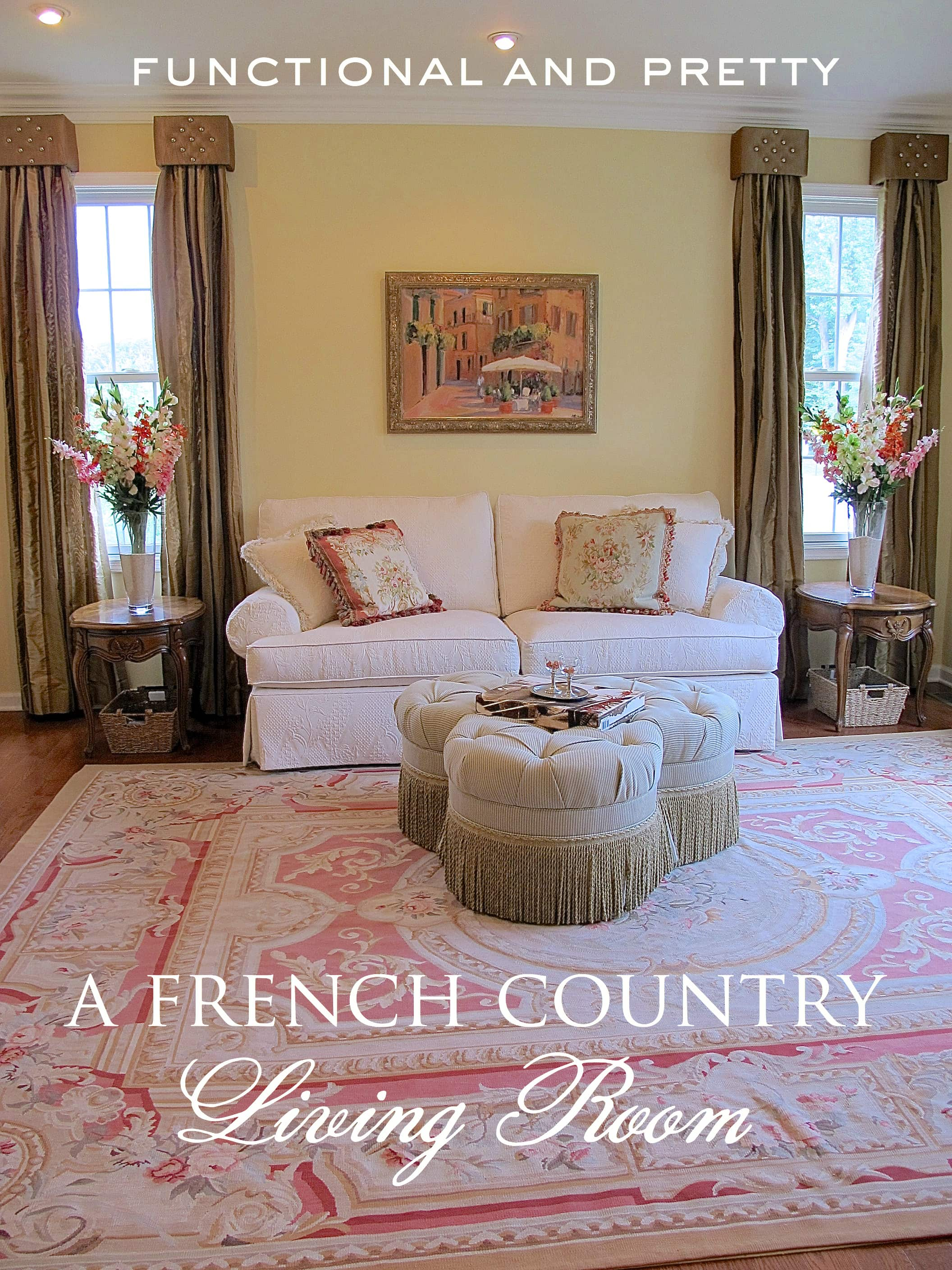 Country French Living Room PP