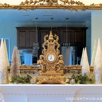 Decorating A Holiday Mantel With Casual Elegance