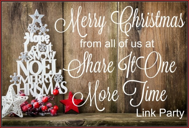 Merry Christmas from Share It One More Time