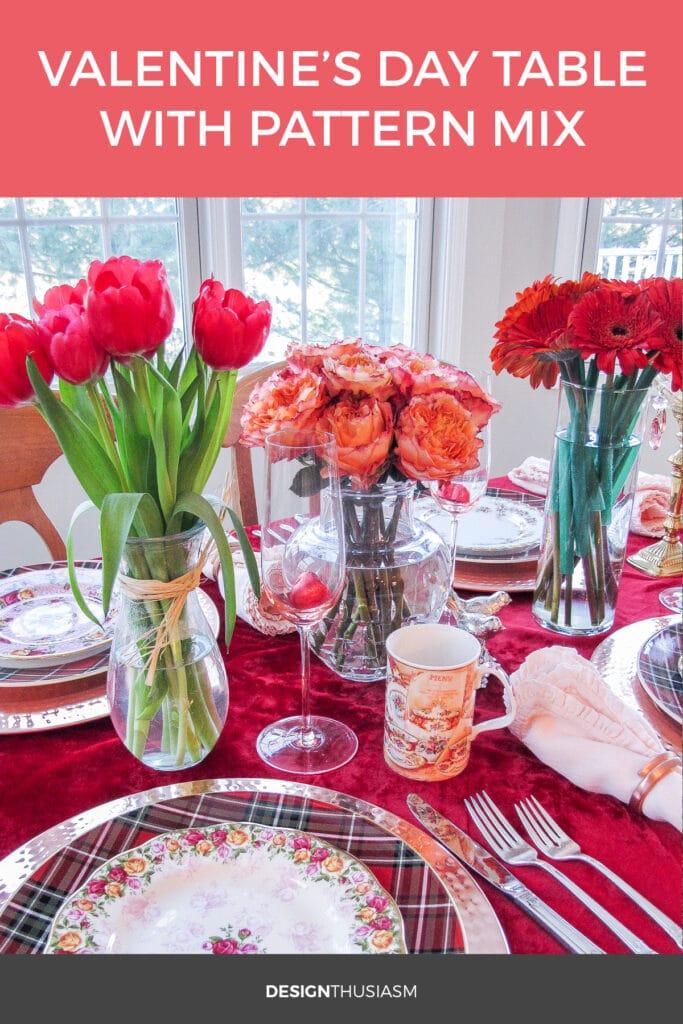 Valentine Table Decorations