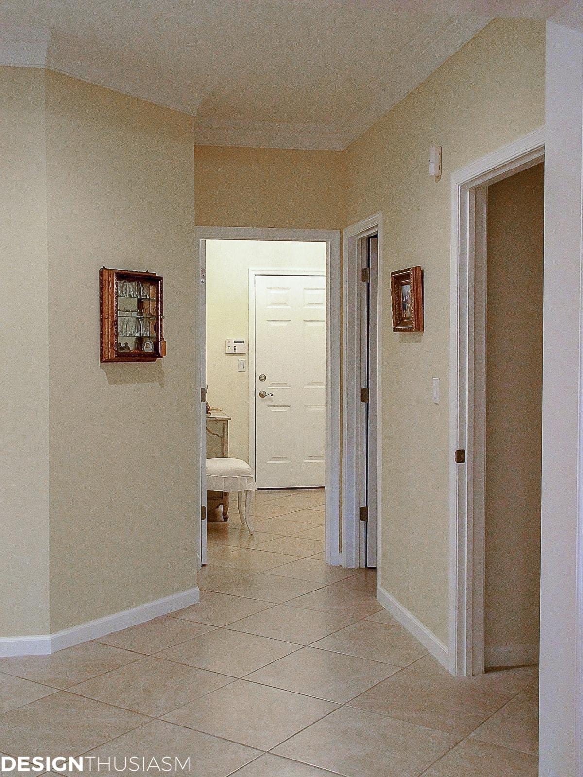 back hallway butler's pantry remodel