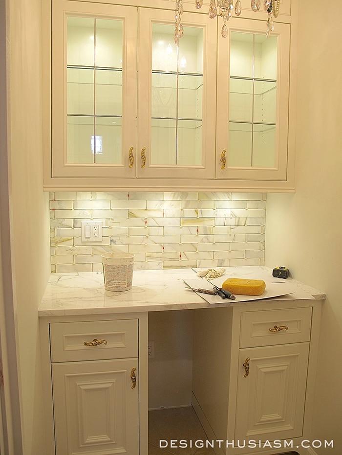 Butler's Pantry Renovation - Designthusiasm.com