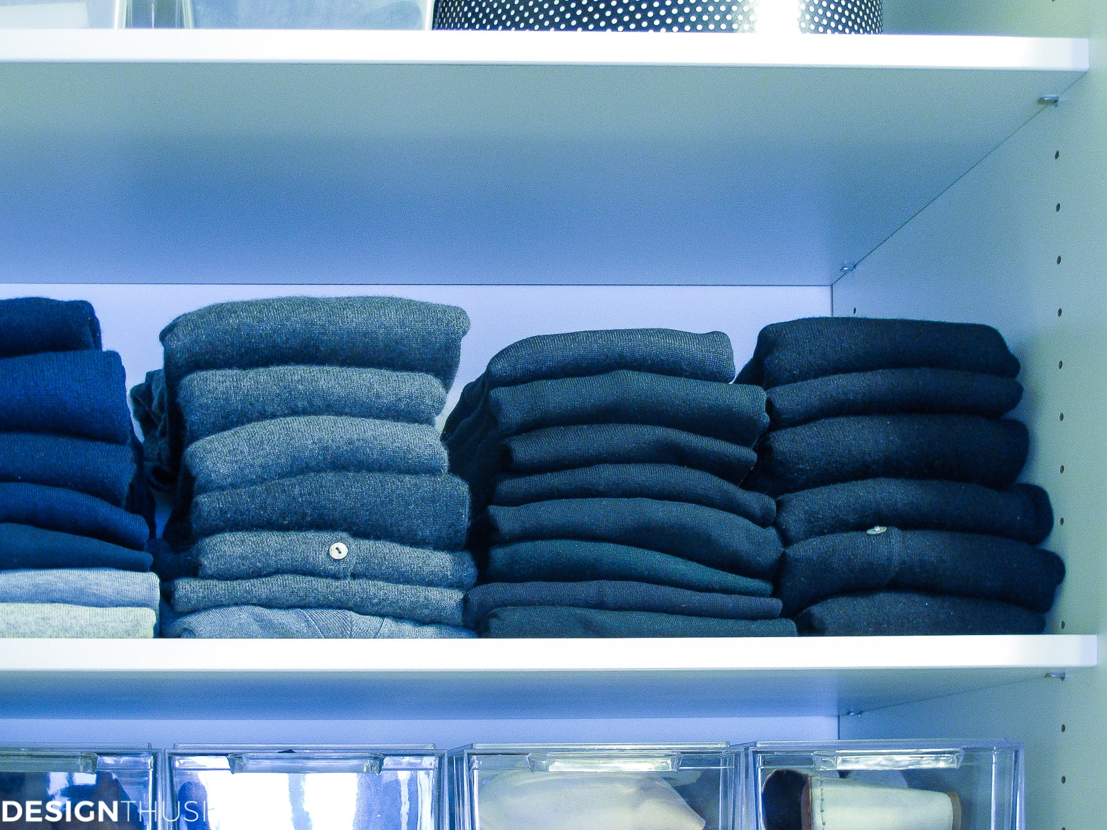 Closet Remodel | Organization Tips That Are Easy to Maintain - designthusiasm.com