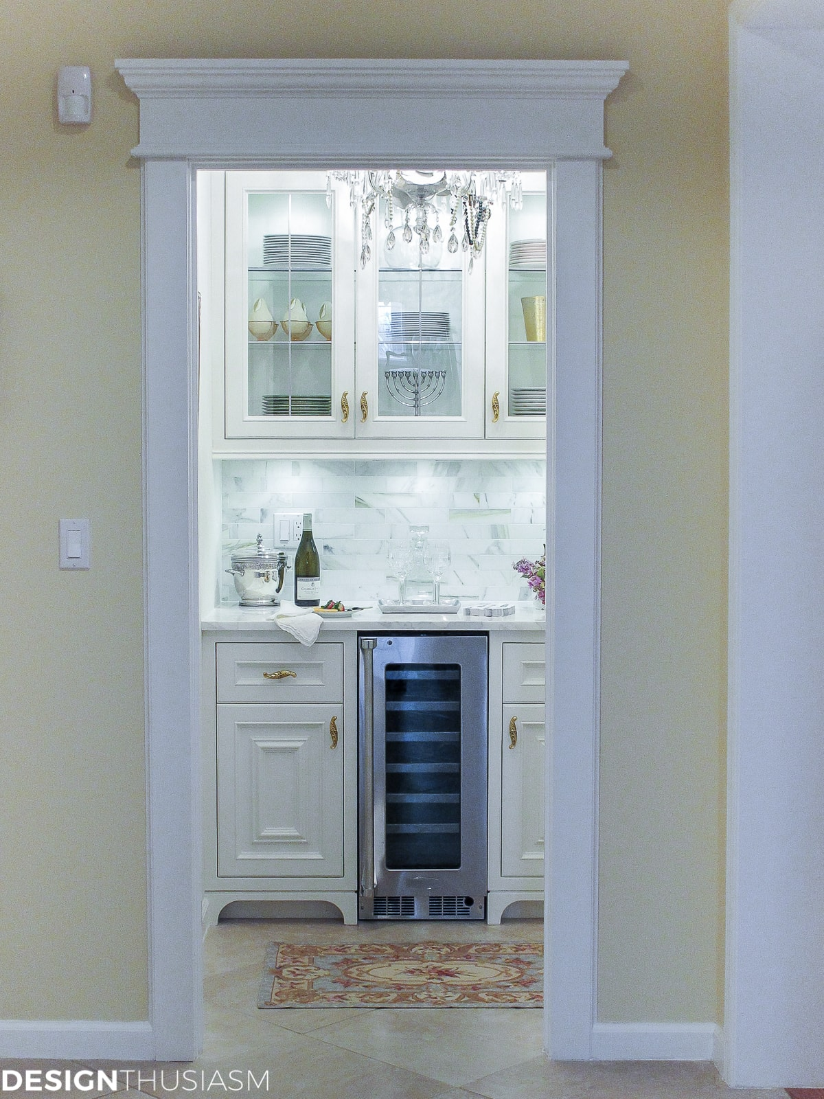 french styled butlers pantry