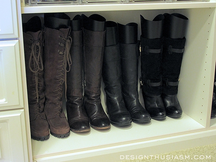 Closet Organization Tips - Designthusiasm.com