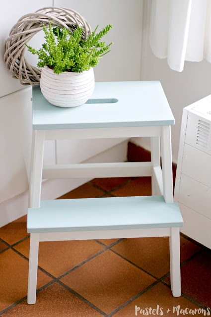 Ikea Stool Makeover - Share It One More Time Feature