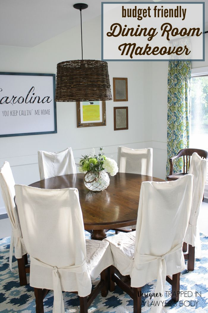 Dining Room Reveal - Link Party Feature - Designthusiasm.com