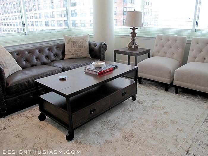 Bachelor Pad Living Room - Designthusiasm.com