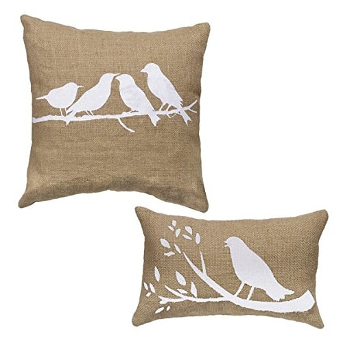 FC Spring Bird Pillows