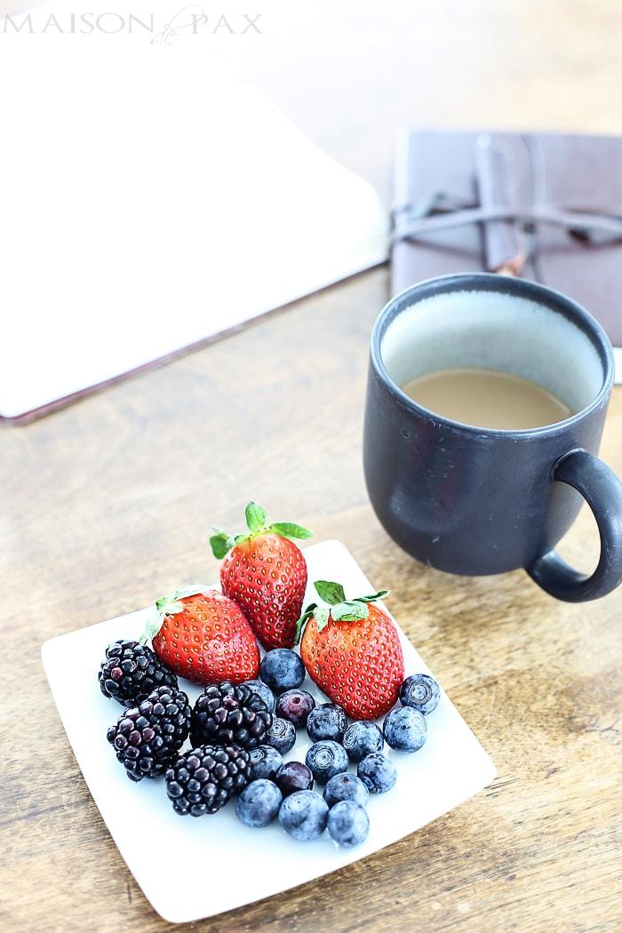 Maison de Pax French Breakfast Bistro Table