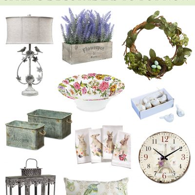 33 French Country Spring Decor Ideas to Buy Now