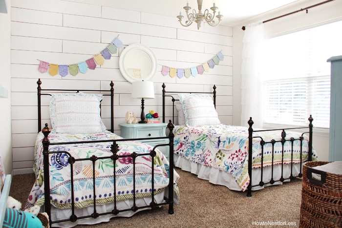 SIOMT Feature - Girl Cottage Bedroom Makeover