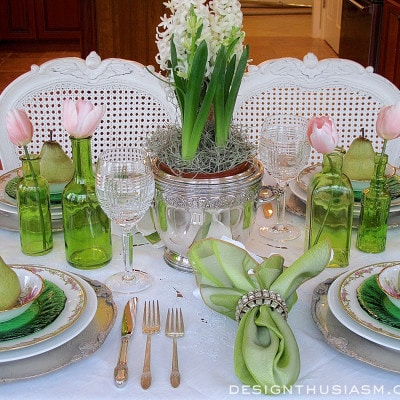 An Elegant St. Patrick's Day Tablescape