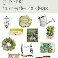 Garden Inspired Home Decor