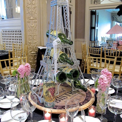 April in Paris Centerpieces