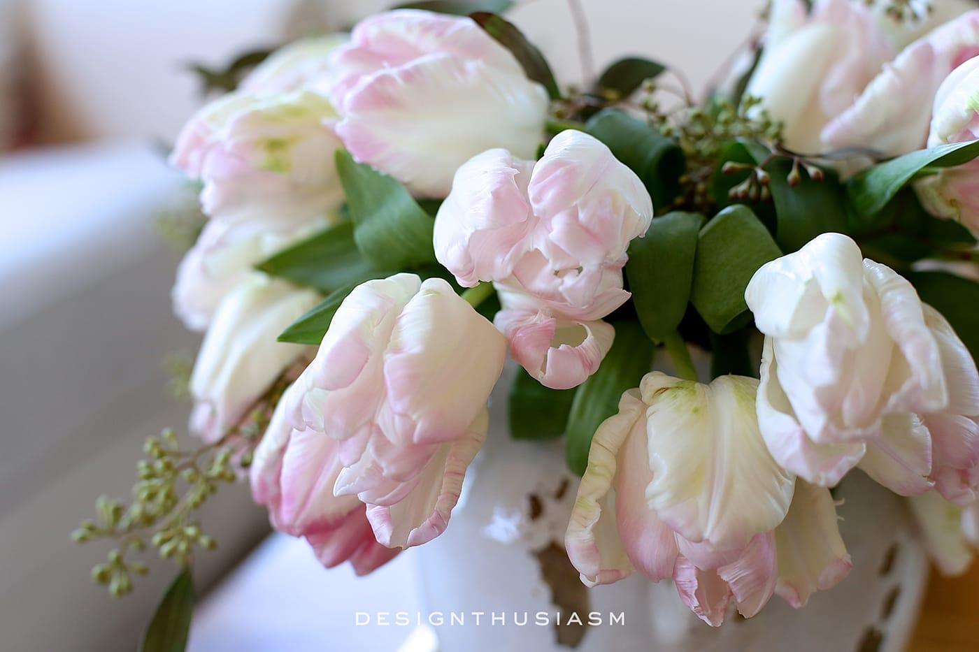 Spring Flowers | Designthusiasm.com