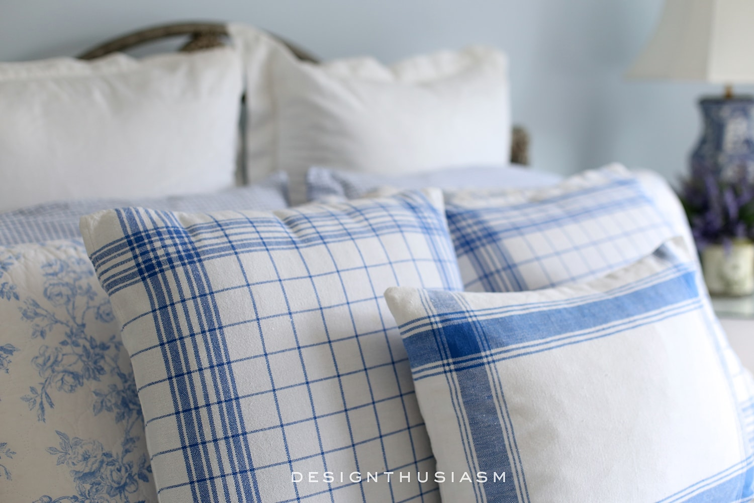 Blue Bedroom Ideas Using Blue White In A French Country Guest Room