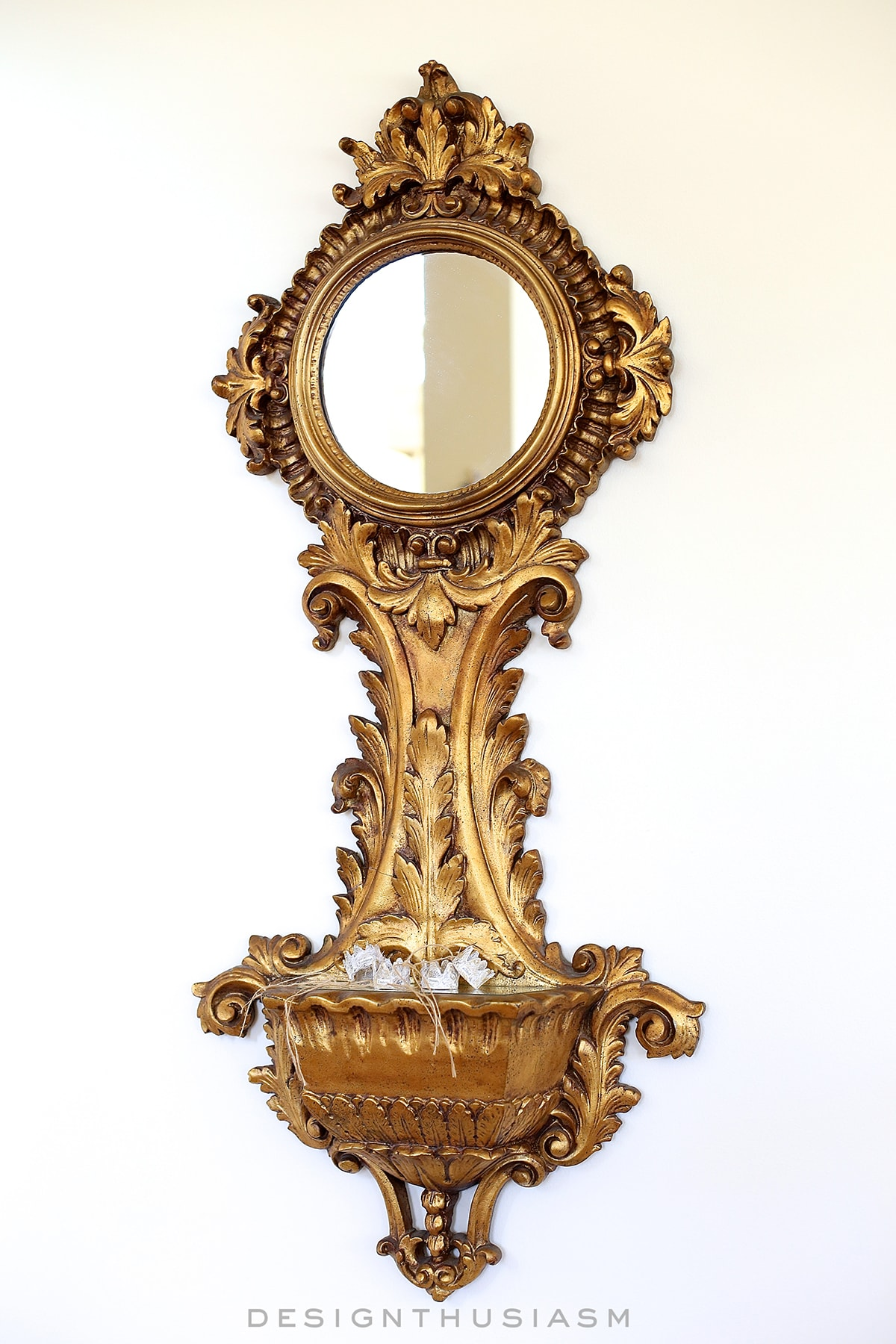 reproduction decorative mirrors dress up the french country den